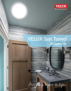 Sun Tunnel Tubular Skylight VELUX Canada Guide Dimensions  and Options for Skylights