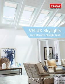 Curb Mounted VELUX Canada Guide Dimensions  and Options for Skylights