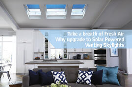 Why Should You Upgrade to a venting opening fresh air VELUX Canadas skylight