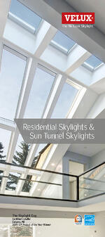 VELUX Canada Skylight and Sun Tunnel Consumer Brochure Dimensions Models and Options for Deck Mounted Curb Mounted and Sun Tunnel Guide