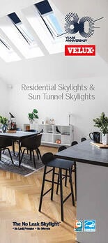 VELUX Brochure Price List Sun Tunnel Skylight and Residential Skylights, Curb Mounted, Deck Mounted, Blinds and Accessories for Skylights.