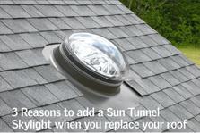 sample sun tunnel skylight